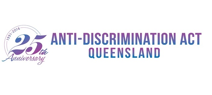 1991-2016 25th Anniversary Anti-Discrimination Act Queensland