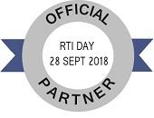 Official Partner - RTI Day 28 September 2018
