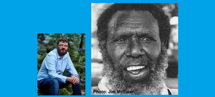 Image of Eddie Mabo and this year's orator, Luke Pearson
