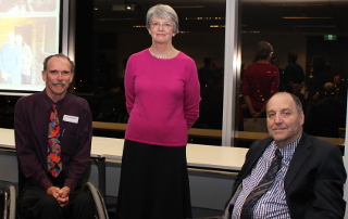 Oration commentator, Oration presenter and the Commissioner