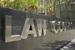 Law Court sign