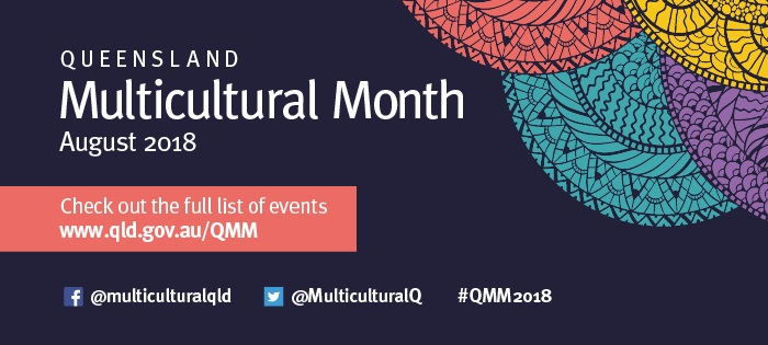 Queensland Multicultural Month August 2018
