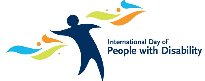 Logo for international Day of people with Disability